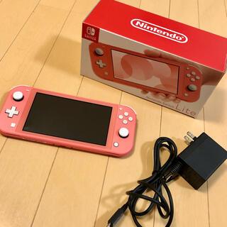 任天堂 - Nintendo Switch LITE コーラルピンク