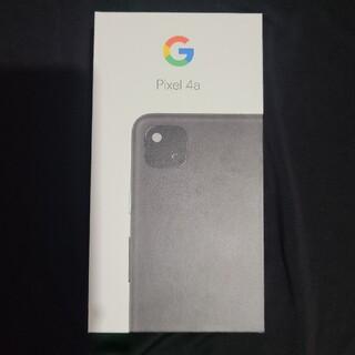 Google Pixel - 【新品未使用】Pixel4a 128GB Black【SIMロック解除済み】