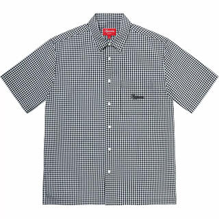 Supreme - 黒 M Supreme Gingham S/S Shirt ギンガムシャツ 新品