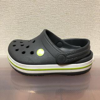 crocs - CROCSクロックス♡ベビー用サンダル グレー C6 14㎝