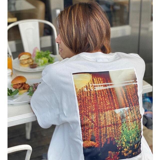 M 白 wind and sea ORNAMENT オーナメント フォトTシャツ メンズのトップス(Tシャツ/カットソー(半袖/袖なし))の商品写真