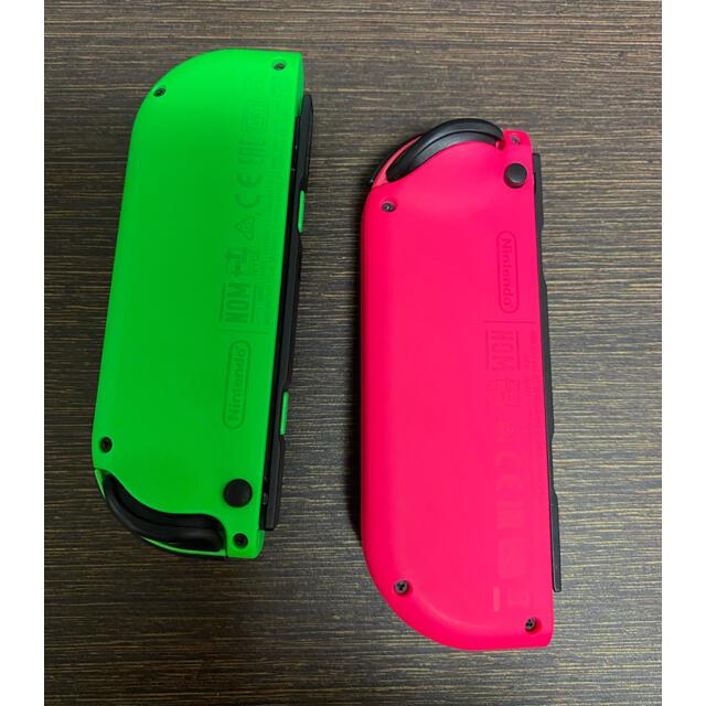 Nintendo Switch(ニンテンドースイッチ)のNintendo Switch Joy-Con ネオングリーン ネオンピンク  エンタメ/ホビーのゲームソフト/ゲーム機本体(その他)の商品写真