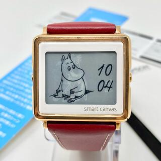 エプソン(EPSON)の美品☺︎EPSON エプソン ムーミン 腕時計 時計 ゴールド ボルドー(腕時計(デジタル))
