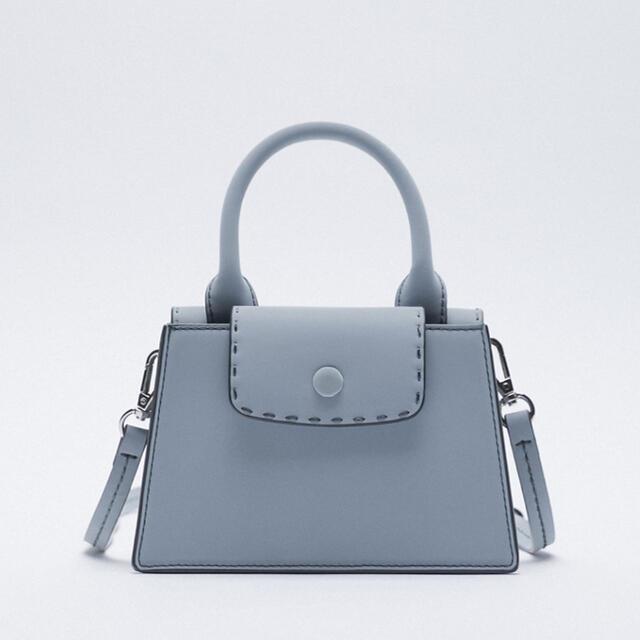ZARA(ザラ)のトップステッチ ミニクロスボディバッグ レディースのバッグ(ショルダーバッグ)の商品写真