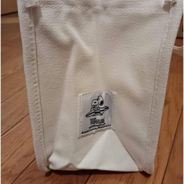 SNOOPY(スヌーピー)の新品☆未使用  スヌーピー SNOOPY ミニトート ランチトート エコバッグ レディースのバッグ(トートバッグ)の商品写真