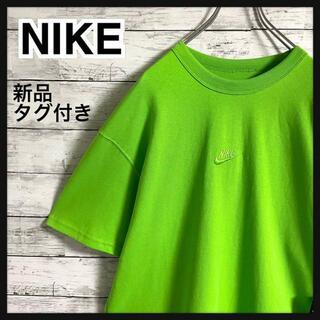 NIKE - 【新品タグ付き】ナイキ☆センター刺繍ロゴ 人気カラー 半袖Tシャツ 人気サイズ