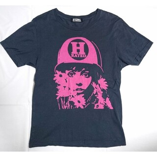 HYSTERIC GLAMOUR - ヒステリックグラマー RATED TEE 0221CT13 ガール シャツ