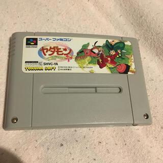 スーパーファミコン(スーパーファミコン)のT15 スーパーファミコン ヤダモン ワンダーランドドリーム(家庭用ゲームソフト)