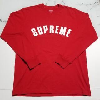 シュプリーム(Supreme)のSUPREME 16SS Arc Logo L/S Top アーチロゴロンT(Tシャツ/カットソー(七分/長袖))