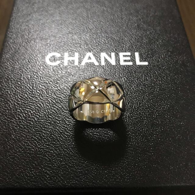 CHANEL(シャネル)のCHANELノベルティリング【新品未使用】お値下げしました レディースのアクセサリー(リング(指輪))の商品写真