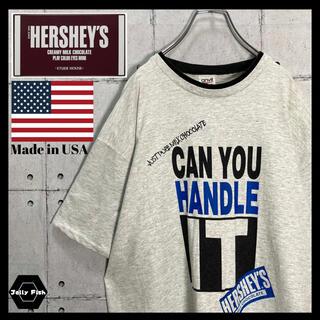 Avail - 【USA製】VINTAGE ハーシーズ/HERSHEY'S 半袖リンガーT XL