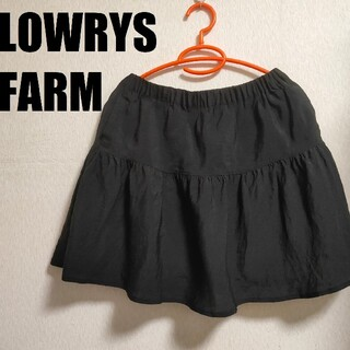 ローリーズファーム(LOWRYS FARM)のLOWRYS FARM◇薄手スカート◇インナースカートにも◎(ミニスカート)