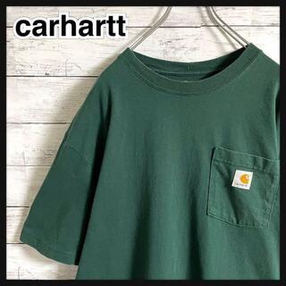 carhartt - 【即完売モデル】カーハート☆ロゴタグ ポケット 超人気カラー 半袖Tシャツ