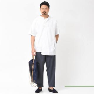 Marni - MARNI 19ssアシンメトリーシャツ