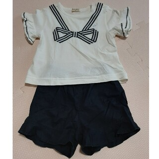 ニットプランナー(KP)の【オススメ】ニットプランナー 半袖Tシャツ&パンツセット 90cm(Tシャツ/カットソー)