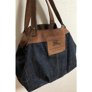 BURBERRY BLUE LABEL - ❤️美品❤️日本製♡デニム♡バーバリーブルーレーベル トートバッグ