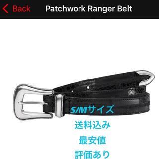 Supreme - 【最安値】Supreme patchwork ranger belt  黒