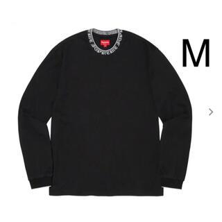 シュプリーム(Supreme)のSupreme Old English Collar Logo L/S(Tシャツ/カットソー(七分/長袖))