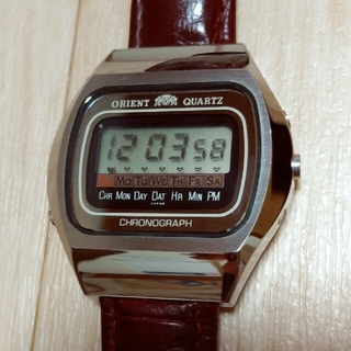 オリエント(ORIENT)のオリエント ヴィンテージ(腕時計(デジタル))