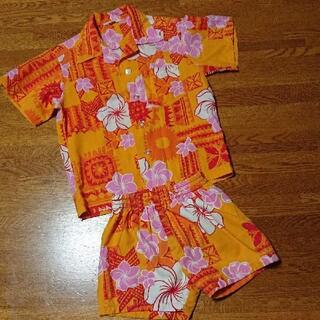 アロハシャツ.パンツ (100サイズ位)(パンツ/スパッツ)