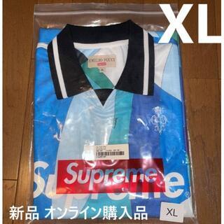 Supreme - XL 新品 21SS Supreme Pucci Soccer Jersey 青