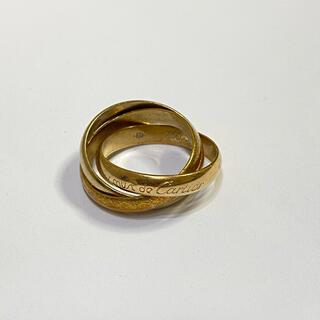 カルティエ(Cartier)のカルティエ トリニティ 50 3連 リング スリーゴールド(リング(指輪))