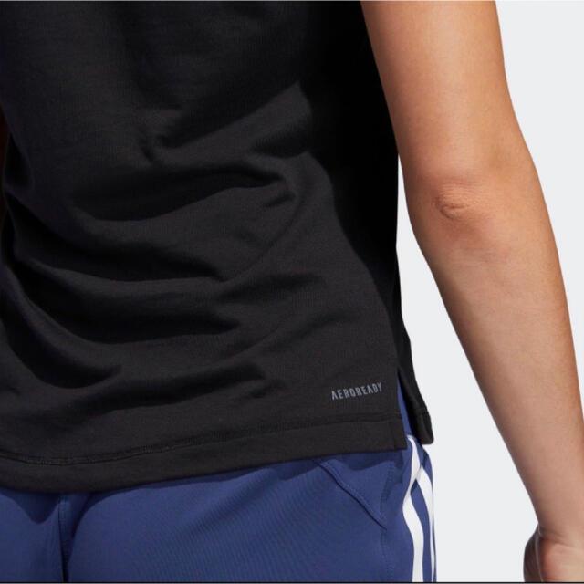 adidas(アディダス)のadidas 吸汗速乾 スポーツウエアTシャツ ★スリムフィット スポーツ/アウトドアのランニング(ウェア)の商品写真