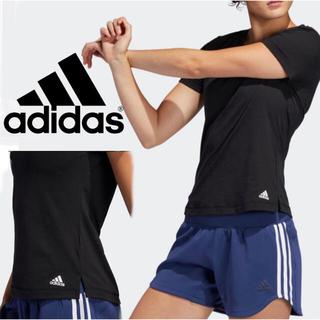 adidas - adidas 吸汗速乾 スポーツウエアTシャツ ★スリムフィット