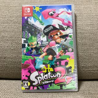 ニンテンドースイッチ(Nintendo Switch)の【未開封】スプラトゥーン2 Switch(家庭用ゲームソフト)