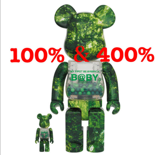 MEDICOM TOY - MY FIRST BE@RBRICK B@BY × FOREST GREEN