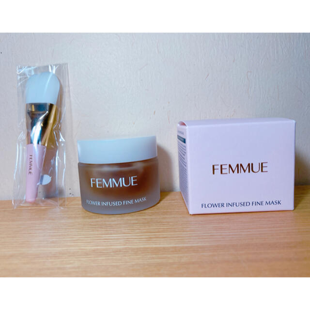 Cosme Kitchen(コスメキッチン)の未使用 FEMMUE ファミュ フラワーインフューズド ファインマスク 50g コスメ/美容のスキンケア/基礎化粧品(パック/フェイスマスク)の商品写真
