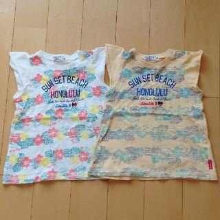 ミキハウス(mikihouse)の大特価☆ミキハウス トップス 90cm✖2枚セット 双子ちゃんに♡(Tシャツ/カットソー)
