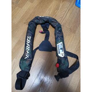 DAIWA - ダイワ ライフジャケット DF2007 グリーンカモ