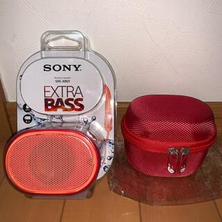 ソニー(SONY)の SONY SRS-XB01(R)(スピーカー)