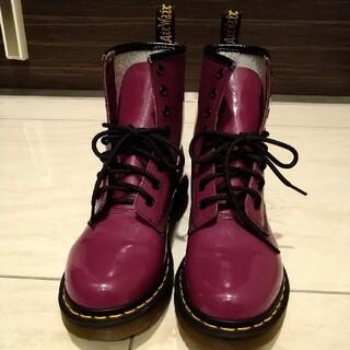 ドクターマーチン(Dr.Martens)のドクターマーチン Dr.Martens 8ホールブーツ レディース 23(ローファー/革靴)