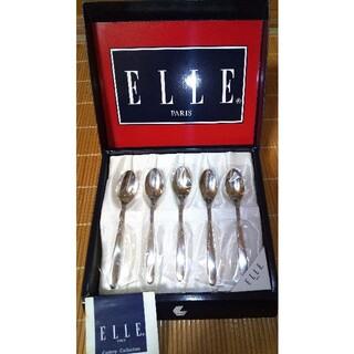 エル(ELLE)の【ELLE】スプーン   ステンレス  5本(食器)