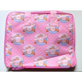 サンリオ - 未使用 送料無料 サンリオ シナモンロール キャラクターバッグ ピンク かわいい