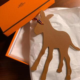 Hermes - エルメスパリ本店購入‼️プティアッシュ 新品 馬 ロバ チャーム
