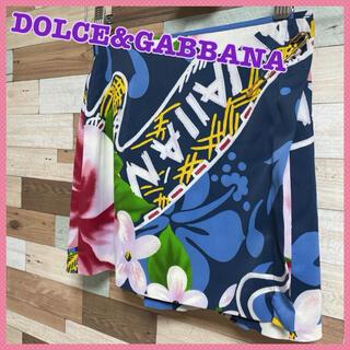ドルチェアンドガッバーナ(DOLCE&GABBANA)の【Dolce&Gabbana】花柄 巻きミニスカート ♡(ミニスカート)