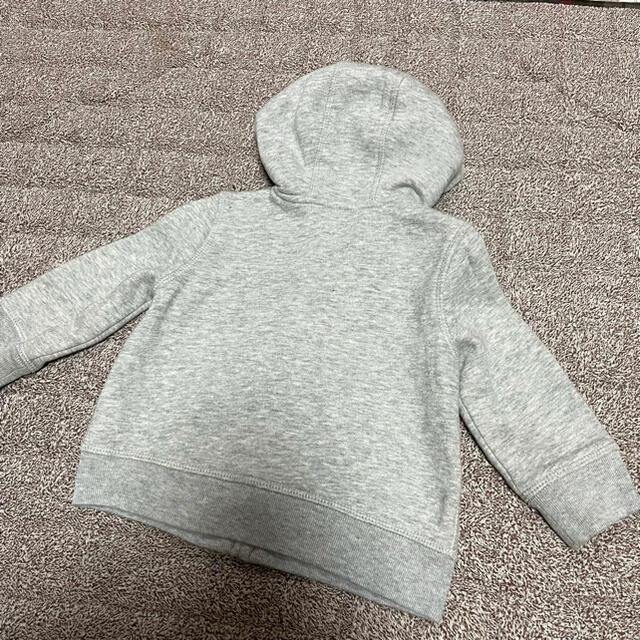 babyGAP(ベビーギャップ)のGAP パーカー ベビー キッズ/ベビー/マタニティのベビー服(~85cm)(トレーナー)の商品写真