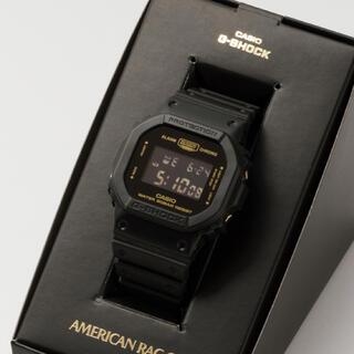 カシオ(CASIO)のG-SHOCK × AMERICAN RAG CIE  別注モデル DW5600(腕時計(デジタル))