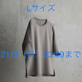 アタッチメント(ATTACHIMENT)のATTACHMENT WYM  IRREGULAR SLEEVE RELAX T(Tシャツ/カットソー(半袖/袖なし))