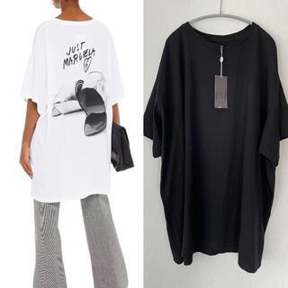 エムエムシックス(MM6)の【新品】MM6 MaisonMargiela  Tシャツ ワンピース(Tシャツ(半袖/袖なし))