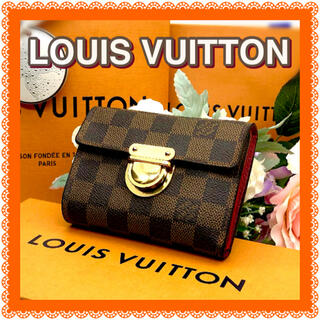 LOUIS VUITTON - ルイヴィトン✳️ダミエ✳️折財布LOUIS VUITTON