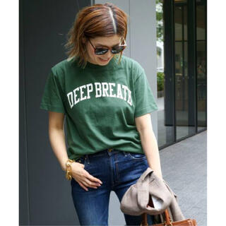 DEUXIEME CLASSE - Deuxieme Classe スキン DEEP BREATH Tシャツ