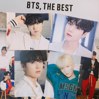 防弾少年団(BTS) - BTS,THE BEST ファンクラブ特典⭐️トレカ ステッカー4点⭐️SUGA