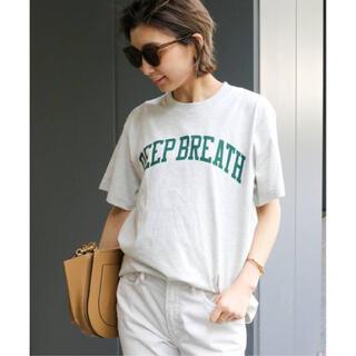 DEUXIEME CLASSE - 新品 Deuxieme Classe スキン DEEP BREATH Tシャツ
