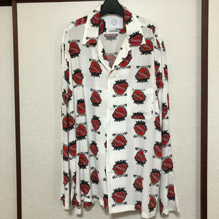 NUMBER (N)INE - FAN別注 now×shokurashina Heart&Crown Shirt