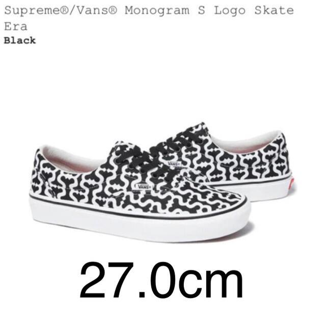 Supreme(シュプリーム)のsupreme vans シュプリーム バンズ sロゴ モノグラム メンズの靴/シューズ(スニーカー)の商品写真