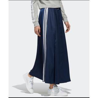 adidas - アディダスオリジナルス ロングサテンスカート
